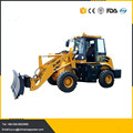 1.6ton wheel loader with 4 in 1 bucket,mini front end loader