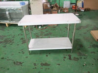 2 Layer Stainless Steel Work Table GT01-6-12