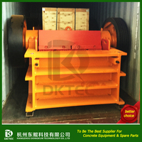 China Good Customizable color mineral breaking machine jaw crusher