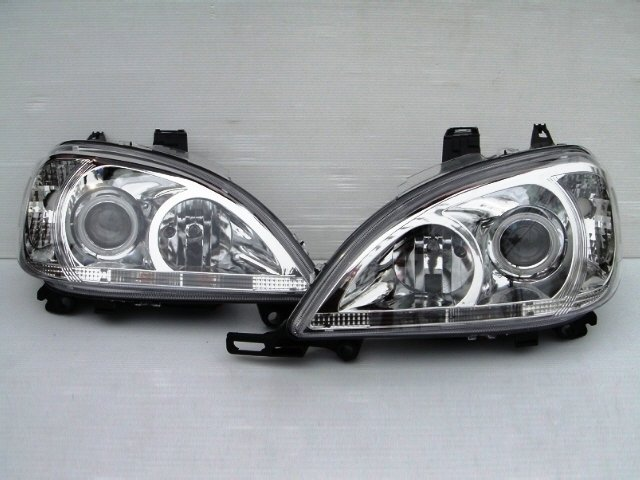 HEAD LIGHT ML W163 W164 W211 XENON CCFL HALO