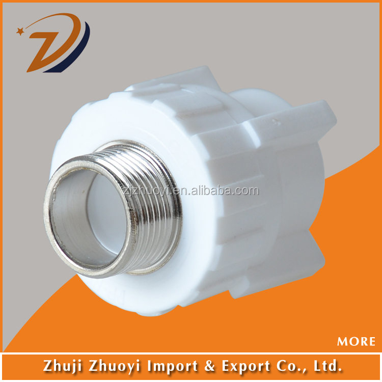 Ppr thread male pipe fitting connector chinese factory