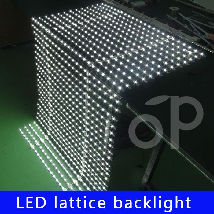 led Net/ curtain/Matrix/Lattice type backlight led strip light optical source made in china