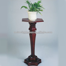 wooden cherry vase table
