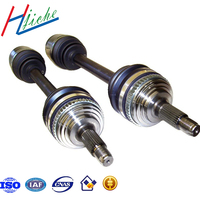 China customized and OEM auto and machinery parts drive axle