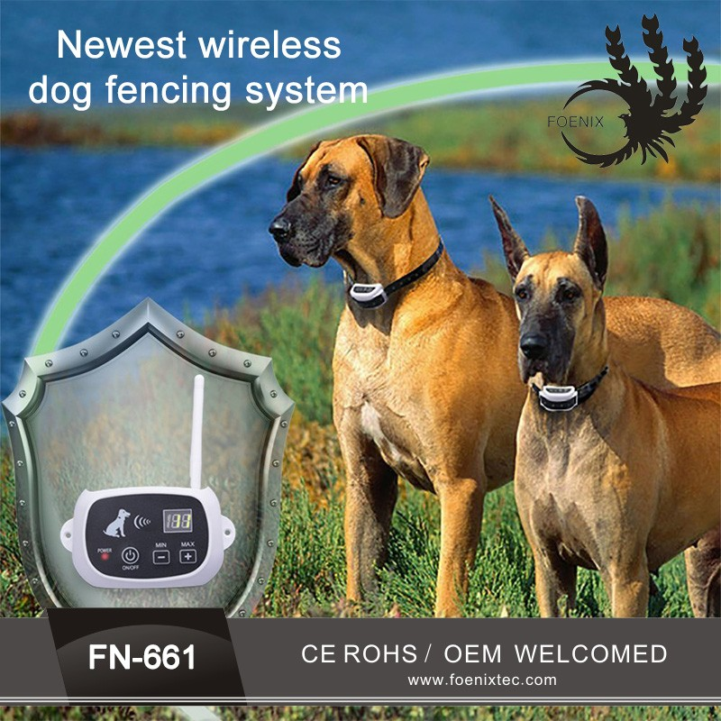 New smart dog adjustable 10 levels electronic pet dog training Fence