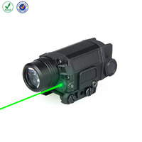 Green laser flashlight X5L tactical led flashlight with green laser sight fit 20mm picatinny rail light for hunting