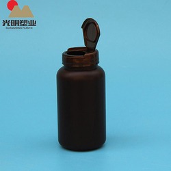 Empty Plastic Pill Vitamin Capsule Pharmaceutical Medicine Bottle Holder
