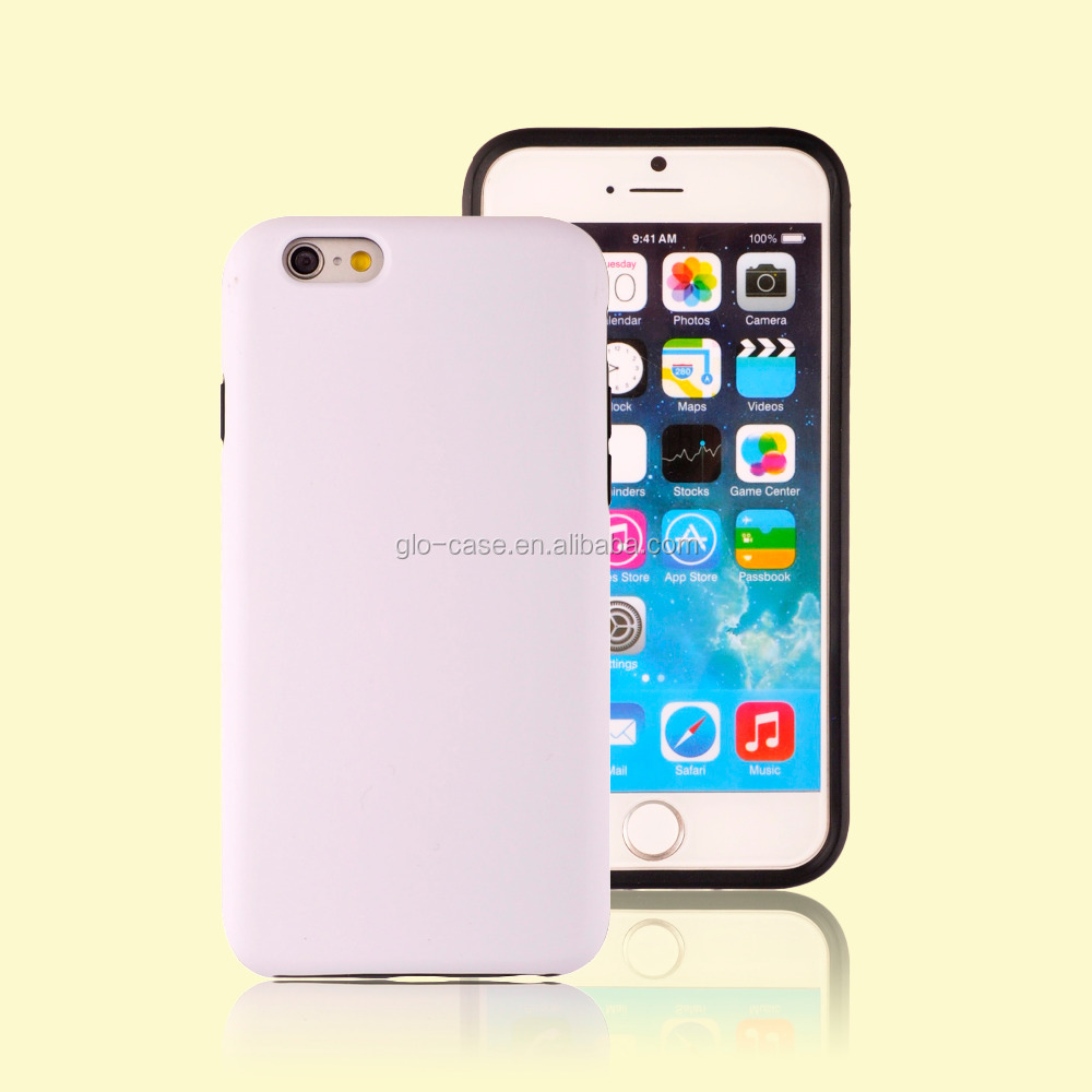 Plain Durable Phone Case for iPhone 6 Sublimation Cover