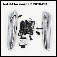 car led drl daytime running lightfor mazda 3 white led daytime running lights drl for mazda 3 2010-2013