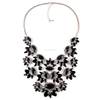 multi layer crystal diffuser Charm necklace in china DC1644
