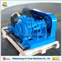 Abrasion resistant iron ore slurry stone trash pumps