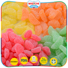 Newest various shaped fruity flavors small gummy candy bulk Multi color sweet candy