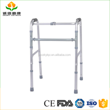 Welcome OEM ODM types of height adjustable support joint locking standing reciprocal walker
