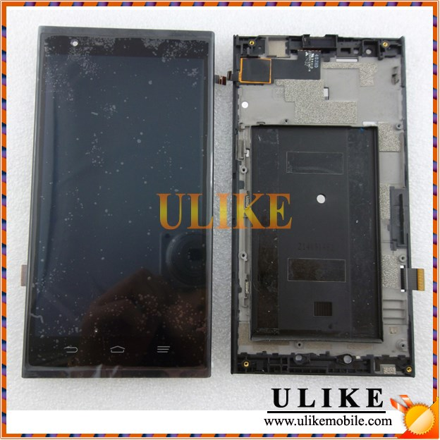 lcd For ZTE ZMAX Z970 LCD Digitizer Screen With Frame