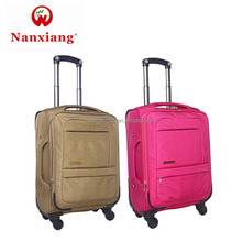 Light weight Factory Soft travel Luggage set suitcase with Nylon