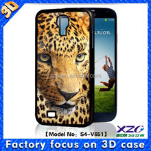 China mobile handy case manufacturer wholesale 3D animal design silicon case for samsung galaxy S4