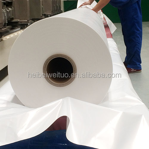 BOPP pearlized film / PP synthetic paper (LL) for Beverage/Water wrap around label