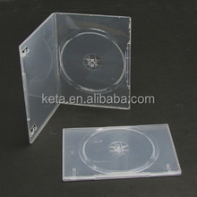 SLim 7MM Super Clear Single Plastic Long DVD Case With Sleeve