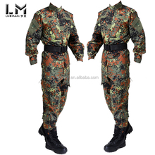 Germany woodland camouflage Outdoor Male Training Swear Military Tactical Combat BDU Uniform Suit Sets Jackets & Pants