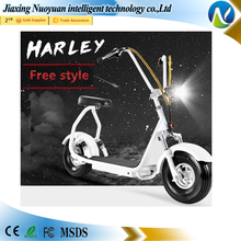 2017 Fashion 2 Wheel Motor citycoco E-bicycle Small electric standing scooter