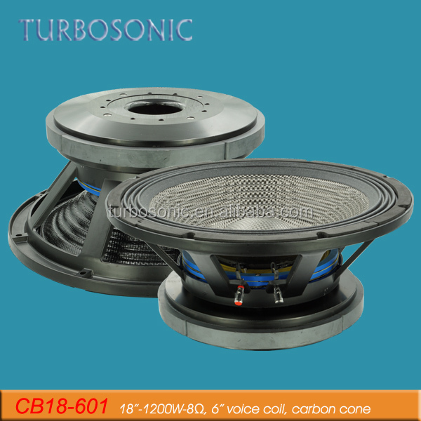 RMS 1200W high powered harga 18 inch bass speaker subwoofer