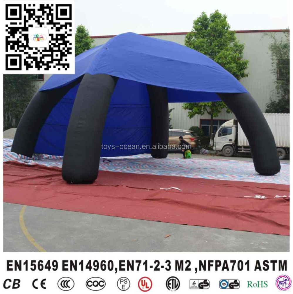 Inflatable Cube Camping Tent Inflatable Dome Tent Outdoor Advertising
