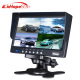 7 Inch 4 Split Quad Screen Color Rear View Car Monitor