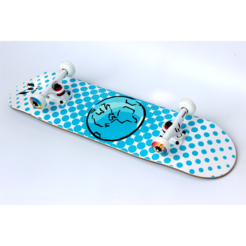 "Mars complete skateboards OEM professional Canada Maple deck 8"" white"