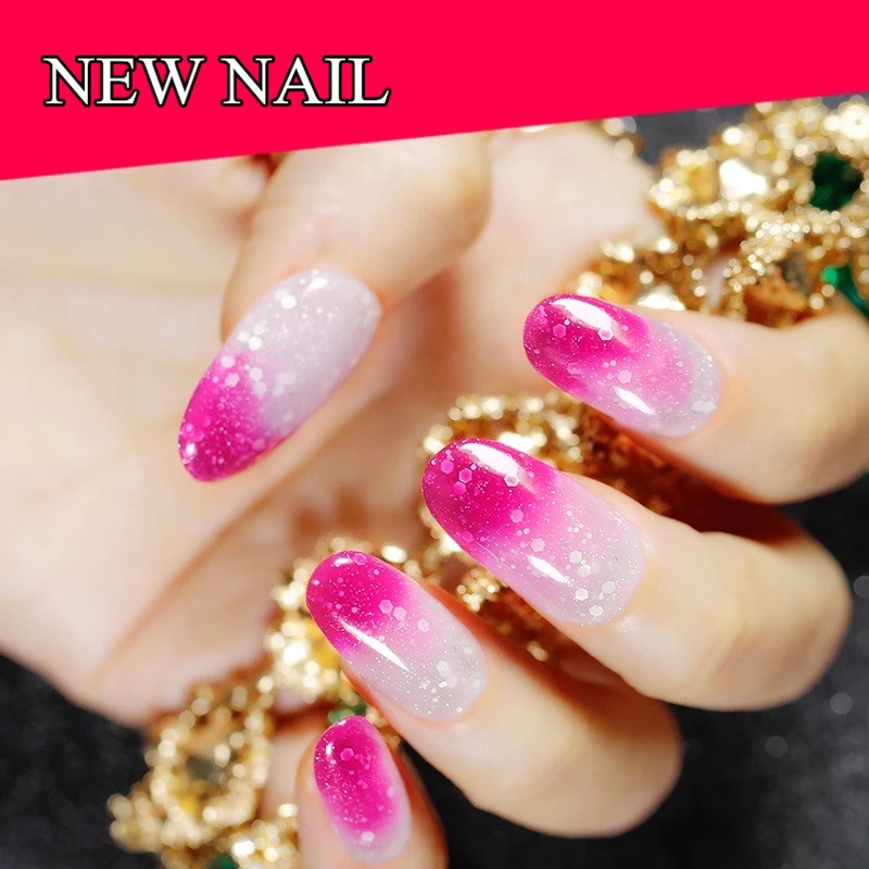 2018 hot new products salon professional uv gel mood temperature change color uv gel nail polish