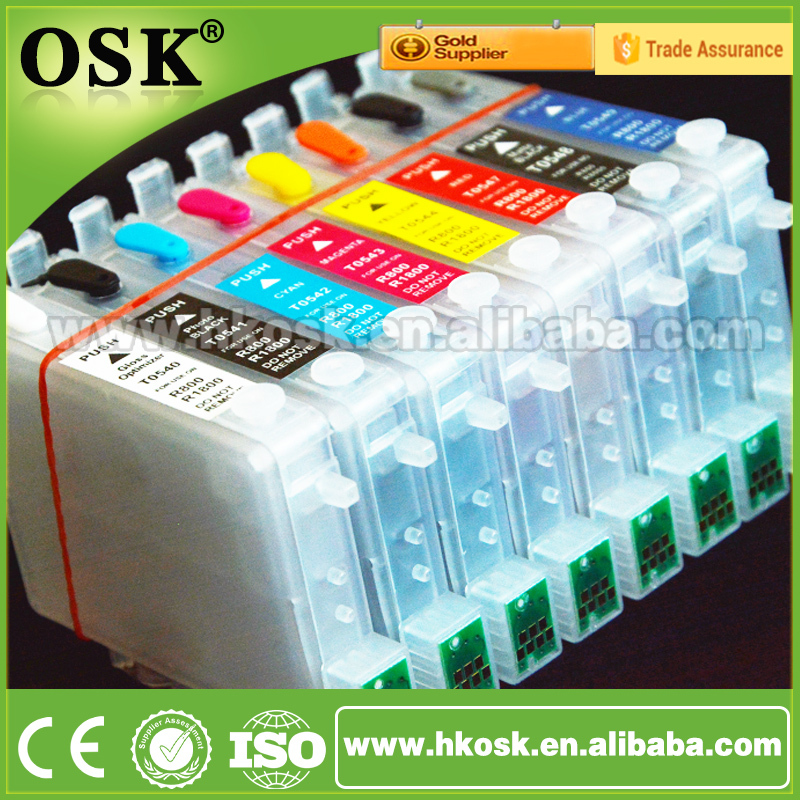 T0591 refill cartridges for Epson Stylus Photo R2400 Compatible ink cartridge with Auto Reset Chip