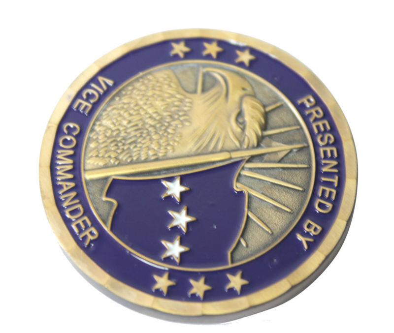 2013 customized double sided eagle coin