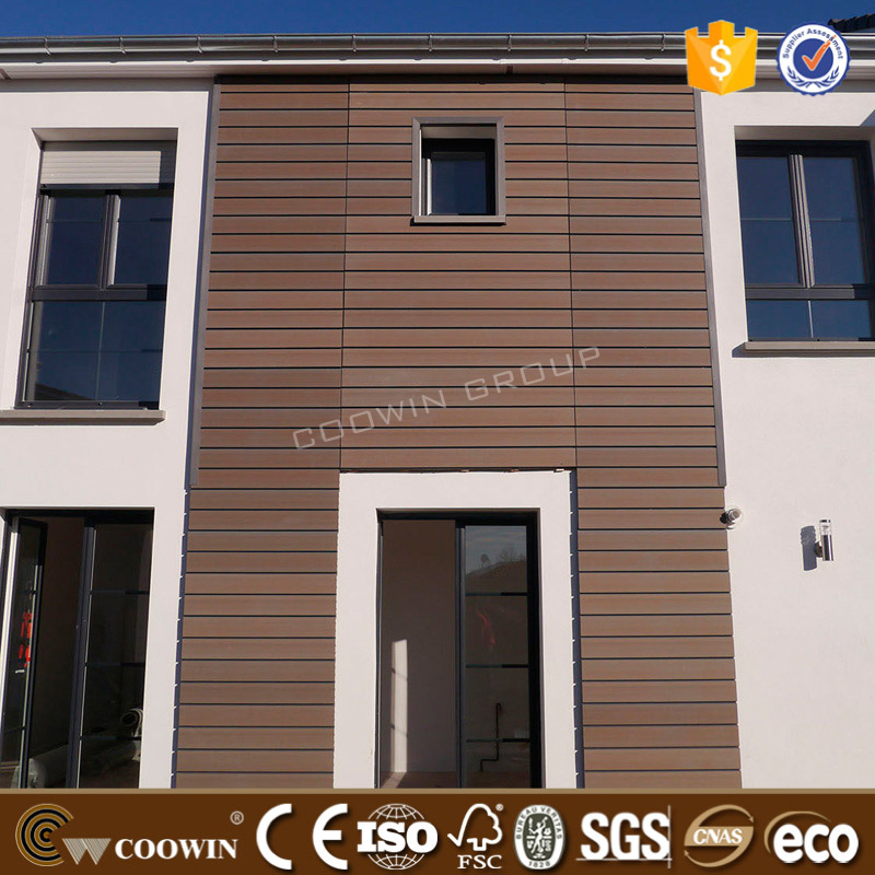 outdoor wood plastic composite wpc wall covering