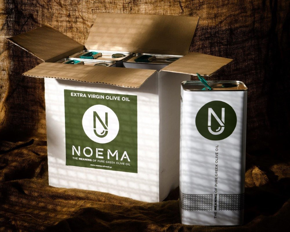 Noema Extra Virgin Olive Oil in 5lt Tin Container