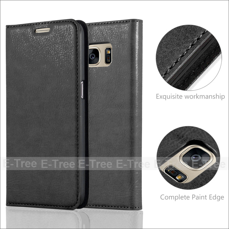 For Samsung S7 Genuine Flip Leather Case High Protective Cover Case