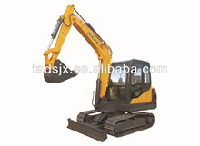6Tons mini crawler excavator chain track
