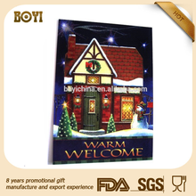 Christmas 3d wall picture,indoor outdoor 3d picture,lenticular poster