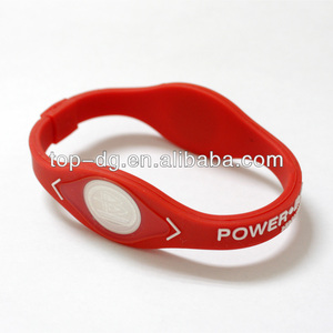 2014 cheap custom magnetic balance silicon power bracelet