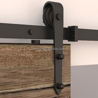 used slidng barn wood door hardware/barn door track fittings