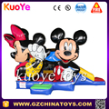 High quality mickey mouse inflatable bouncy castle for kids Juego inflable china
