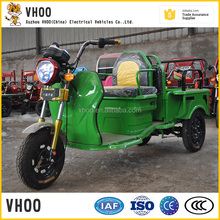 Large Loading Electric Cargo Tricycle/Fashional Electric scooter with open van by China supplier