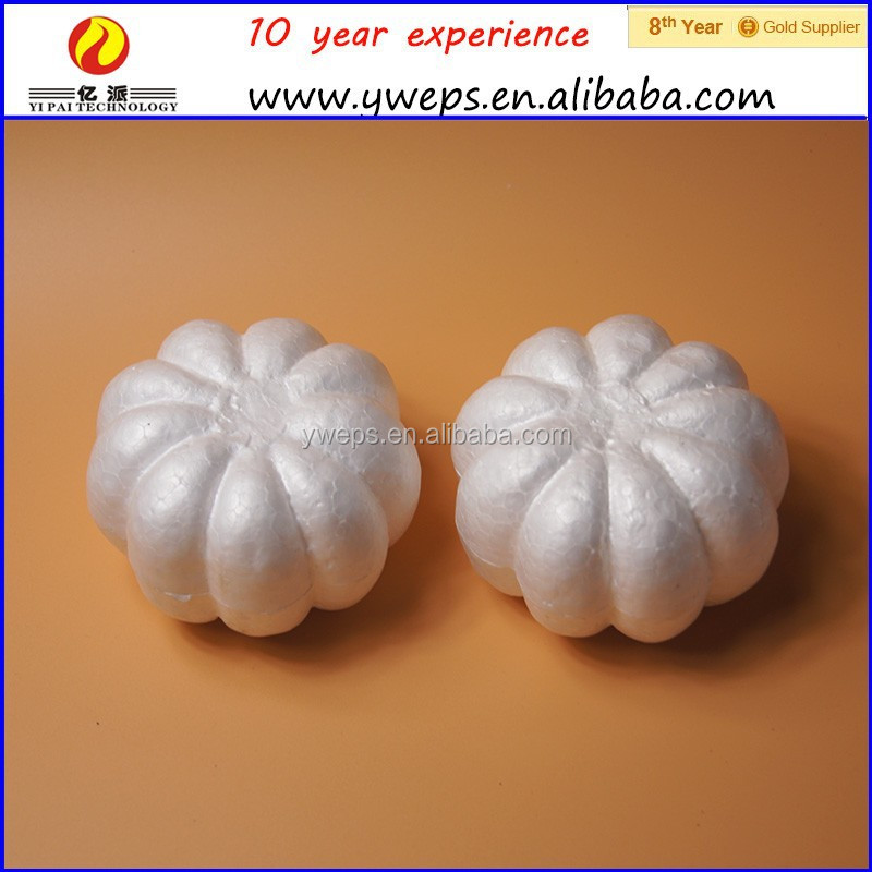 factory directly white foam pumpkin craft