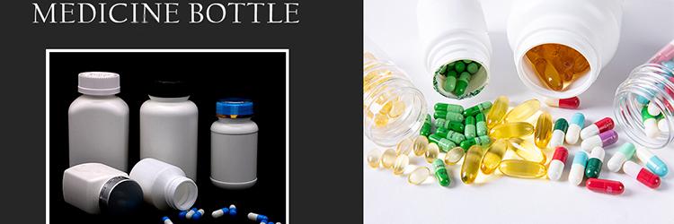 Garrafas de plástico pílula farmácia garrafa china atacado verde médica com childproof tampas crc