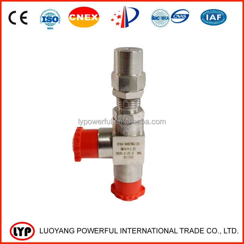 Online shopping high pressure safety valve / security valve