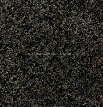Brown black crystal black granite for flooring
