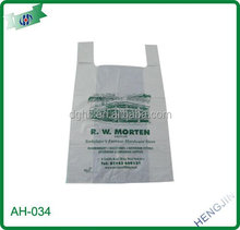 Green Oxo Bio-degradable T-shirt Bags for kitchen use