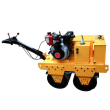 Diesel engine Double Drum Static Road Roller with lower cost maintainence