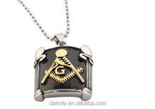 guangzhou fashion jewelry masonic stainless steel pendent for men and women