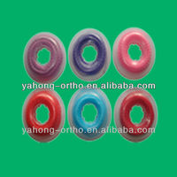 orthodontic lingual buttons elastic tie power chain