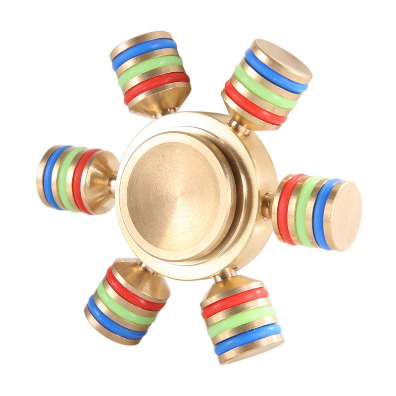 Customized Metal Twiddle Fidget Toys Hand Stress Spinner