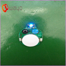 Single Blue color leds for clothes/mini single led lights battery powered